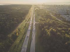 Traffic | Kaunas aerial | Autumn 2016 (A. Aleksandraviius) Tags: morning europe djieurope baltic kaunas lithuania lietuva drone aerial dronas highway a1 road traffic rushhour aerialphotography dji djiphantom3 phantom phantom3 phantom3advanced advanced birdseye landscape djiglobal cars
