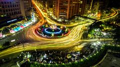Light Trails around Shapla Circle (-: : [himuGraphy] : :-) Tags: lighttrailsaroundshaplachattar shaplachattar motijheel dhaka bangladesh longexposure himu syedhimyanuddinahmed nikond7100 tokina1116mmf28