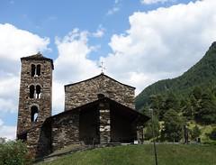 Sant Joan de Caselles (Iris.photo@) Tags: andorre canillo santjoandecaselles architecture roman ximesiccle pierre clocher glise chapelle