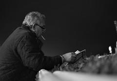 (Claudio Blanc) Tags: street streetphotography buenosaires blackandwhite blancoynegro bn bw candid portrait hipdromo night noche nocturna