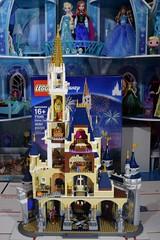 LEGO Disney Castle Set - Disneyland Purchase - Fully Assembled - Full Rear View (drj1828) Tags: us disneyland 2016 lego disney castle purchase 71040 assembled completed
