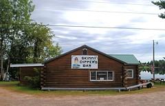 Skinny Dippers Bar, Exeland Wisconsin (Cragin Spring) Tags: skinnydippersbar skinnydippers bar cabin tavern lake lakeside wisconsin wi midwest sign exeland exelandwi exelandwisconsin rural unitedstates usa unitedstatesofamerica