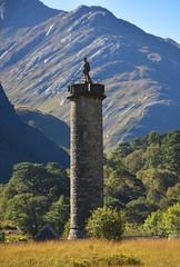 Glenfinnan and Eilean Donan (jaffa600) Tags: mistymorning mist misty scotland nature outdoor scenic highlands scenery sunshine glenfinnan glenfinnanviaduct viaduct railbridge railway greatglen glenfinnanmonument monument jacobiteuprising jacobite