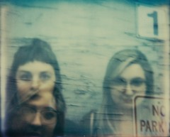no parking (buttercup caren) Tags: polaroid impossibleproject astrid jules doubleexposure spectra muses