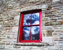 Window of History (--Kei--) Tags: mamiya mamiyasekor mamiyasekor65mmf4 mamiya65mmf4 65mm f4 mediumformat 120film film analogue agfa agfacolor optima optima200 wales southwales cardiff caerdydd stfagans museumofwelshlife rz67 rz67proii rz67professional 67 6x7