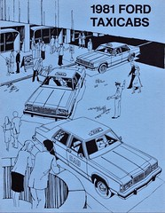1981 Ford Taxicabs (aldenjewell) Tags: 1981 ford taxicabs taxis ltd s fairmont brochure