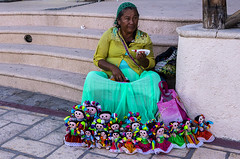 Street artist, Cabo San Lucas, Mexico (a bit of everything) Tags: mexico cabosanlucas colorful artist dolls