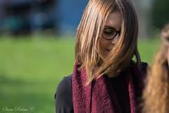 Federica (sara_perino) Tags: federica housemate coinquilina coinquiline capelli hair brown bruni marroni occhiali glasses ritratto natura nature autumn autunno