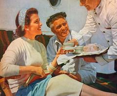 1950s Cruise Line Ad (Christian Montone) Tags: ads advertising vintageads adverts vintage print printads 1950s midcentury