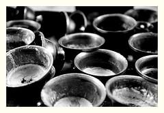 Butter Lamps (jfusion61) Tags: bhutan punakha butter yak lamps dzong black white monochrome d750 simple 2470mm buddhism buddhist  himalayas