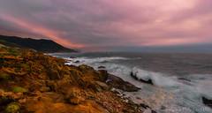 Brewing Storm (philipleemiller) Tags: landsape seascape d800 nature panoramas pacificcoast california waves stormclouds bigsur l