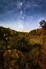 Starstruck (bprice0715) Tags: canon canoneos5dmarkiii canon5dmarkiii landscapephotography landscape nature naturephotography beautiful beauty beautyinnature astronomy astronomyphotography taughannokfalls colorful colors astro milkyway nightsky stars