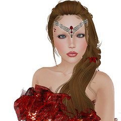 SashaZuriECRUrezology_004 (Ylva Ullsdotter) Tags: secondlife fashion hair skin mesh slink physique visage rezology inkheart eyes ecru shoes gown thewhitearmory twa saschasdesigns sas zurirayna jewelry accessories