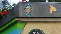 Mush + Paddy_3003 rue Barrault Paris 13 (meuh1246) Tags: streetart paris mush paddy ruebarrault paris13 butteauxcailles mariobros