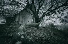 Haunted Hill (@hipydeus) Tags: bavaria bayern chapel ruin haunted mystic landscape germany