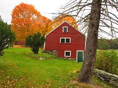 Carlisle Farm Autumn 2 (dennisgg2002) Tags: carlisle massachusetts autumn fall new england colors foliage barn red