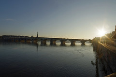 Blois (Loir-et-Cher) (sybarite48) Tags: blois loiretcher france pont brcke bridge   puante  ponte  brug most  kpr fleuve fluss river   ro  fiume  rivier rzeka rio  nehir laloire loire