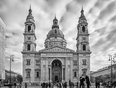 St. Stephen's Basilica Budapest (Draen Kosijer) Tags: basilica church budapest hungary ststephen sentistvan blackandwhite bw