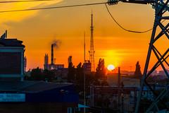 DSC_7523 (sergeysemendyaev) Tags: 2016 russia krasnodar autumn fall     landscape scenery sunset   dusk sun  city