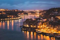 Porto Twilight (samthe8th) Tags: porto portugal travel vilanovadegaia pt