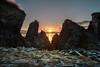 Overwhelming (rishaisomphotography) Tags: gibsoncove kodiak alaska snow grass sunrise ocean sea bay water nature naturephotographer