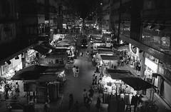 Night Market (ericchui919) Tags: leicam6 bw nightshot kodaktmax400 kodakhc110 streetsnap film