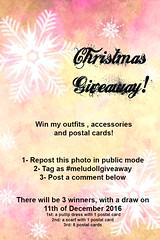 Christmas Giveaway (Melu Dolls) Tags: melu meludoll meludolls giveaway meludollgiveaway