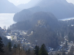 View from the mountain (pattyesqga) Tags: schloss moubtain snow river nature naturelover germany bavaria