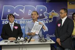 Coletiva Notas Fiscais (45wilson) Tags: coletiva prefeito campanha ws 45 notas
