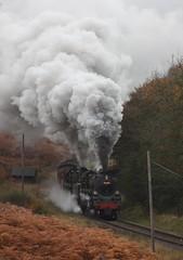 Newtondale (feroequineologist) Tags: 76038 76079 76084 railway train steam northyorkshiremoorsrailway nymr