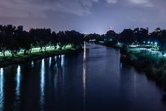 Untitled River Image (Yam Amir) Tags: raw reflection water nikon night nikkor nikonfg longexposure lightroom aqua landscape tel aviv telaviv yamamir amir yam
