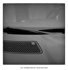SLK280 Detail #8 (Godfrey DiGiorgi) Tags: colorskopar50mmf25 abstract automobile bw car detail shape slk280 stilllife santaclara california usa us