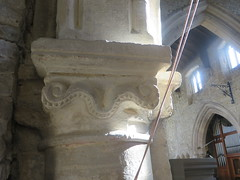 South Luffenham, Rutland (jmc4 - Church Explorer) Tags: south carving piller column arcade luffenham southluffentham church rutland