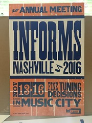 We made a poster with Hatch Show Print!