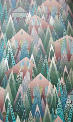 wildwood woven wallpaper (Scrummy Things) Tags: sharonturner scrummy spoonflower peelandstick decal wallpaper design graphic removable chalet alps trees forest wooden houses buildings nature snow cold vacation wilderness wildwood surfacedesign winter giftwrap challenge contest