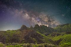 Kalalau (Marvin Chandra) Tags: d600 24mm longexposure milkyway marvinchandra hawaii kauai kalalau beach stars astrophotography night mountain hiking landscape nature napali