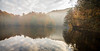 yedigoller reflection (ozancebeci) Tags: misty nature lake yedigöller reflection