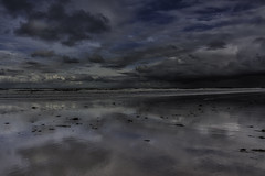 From here to eternity (Andy2305) Tags: northumberland sky beach reflections clouds coast