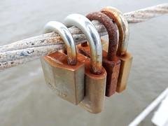 Rusty Love (mikecogh) Tags: grange padlocks jetty love dedication locked