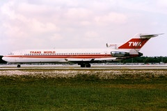 Trans World Airlines   Boeing 727-200   N54342   Ft. Lauderdale (Dennis HKG) Tags: twa tw transworld transworldairlines boeing 727 727200 boeing727 boeing727200 aircraft airplane airport plane planespotting ftlauderdale fortlauderdale kfll fll n54342