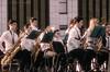 children's wind band (Lyutik966) Tags: orchestra windband children people group collective music art performance boy girl saxophone musicalinstrument moscow victorypark celebration