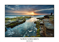 Summer morning at North Narrabeen reef (sugarbellaleah) Tags: reef ocean summer scenic seascape narrabeen tide channel rocks geology pretty beautiful amazing seaside australia wonderful clouds morning nature environment weathered waves sky cunjevoi sealife