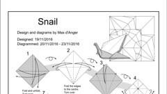 Snail diagram (Mdanger217) Tags: max danger origami snail diagram inkscape