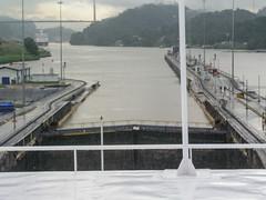 Up we go (gttexas) Tags: 2005 cruise norwegiandream panama panamacanal ship