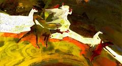 Love is all / Artist : Haveit Neox (Bamboo Barnes - Artist.Com) Tags: haveitneox secondlife art installation surreal virtualart digitalart photo painting vivid red black yellow light shadow bamboobarnes prince reindeer lea winter loveisall