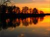 Reflections in the golden light of the sunset (Ostseetroll) Tags: deu deutschland geo:lat=5403698148 geo:lon=1070088333 geotagged pönitzamsee scharbeutz schleswigholstein pönitzersee lakepönitz wasser water bäume trees spiegelungen reflections sonnenuntergang sunset