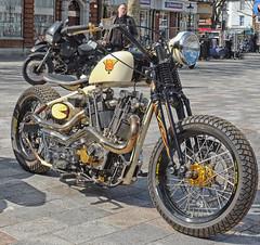 Name Dropping.. (Harleynik Rides Again.) Tags: lambengineering larryhoughton spiritofendeavour motorcycle biker bike bobber v2 harleynikridesagain jap