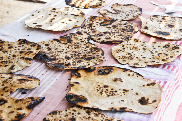 Drying Matzah