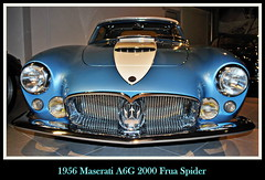 1956 Maserati A6G 2000 Frua Spider (PictureJohn64) Tags: auto heritage classic car museum spider automobile 2000 driving traffic famous den transport hague collection commercial transportation historical 1956 haag collectie maserati fahrzeug oto historisch verkeer vervoer klassiek  samochd beroemd gravenhage otomobil louwman frua automobiel worldcars a6g  automoviel klassiesch