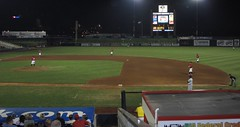 Modern Woodmen Park, Davenport (Iowa), 19 August 2010 (milanite) Tags: baseball iowa ballparks minorleagues midwestleague davenportiowa modernwoodmenpark quadcitiesriverbandits scottcountyiowa